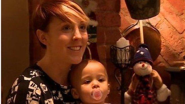 Leah Hall is looking forward to seeing Yogi Depass on Christmas eve