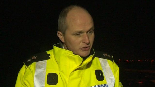 Chief Superintendent Martin Evans from Central Motorway Police