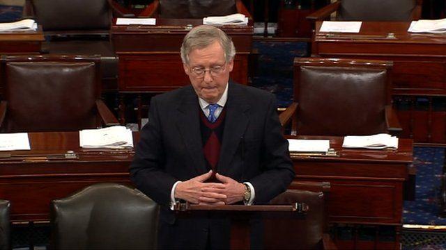 Senate Republican leader Mitch McConnell