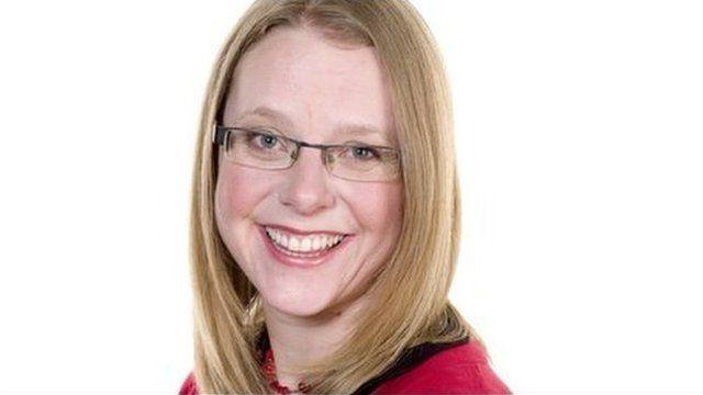 Weather presenter Kate Kinsella
