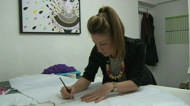 Start-up loan recipient Elena Mingas