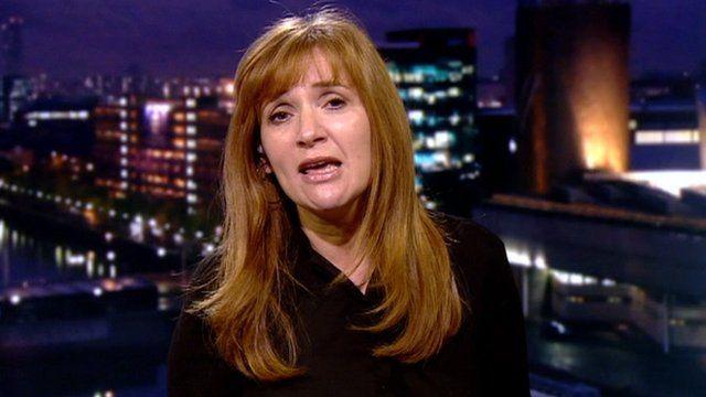 Journalist Angela Epstein