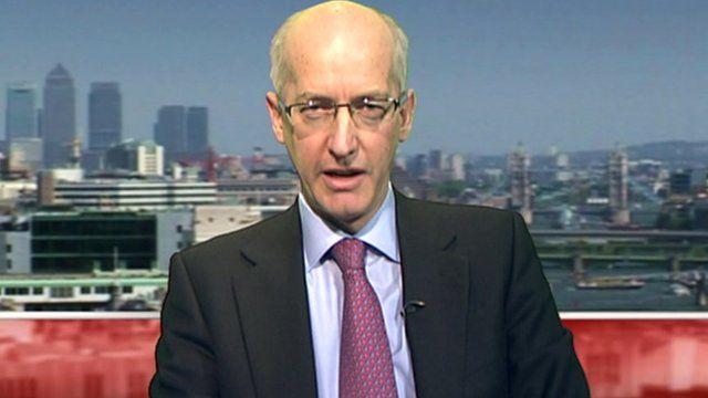 David Higgins, Chief Executive of Network Rail