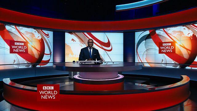 BBC News Photo: Welcome To The World's Newsroom