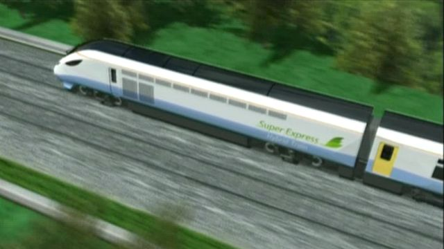 An image of the planned new trains