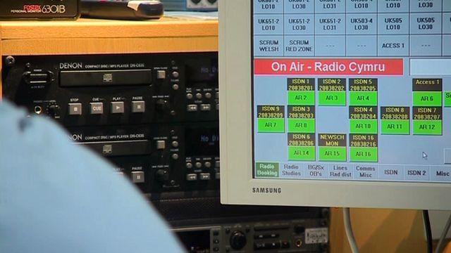 Radio Cymru studio