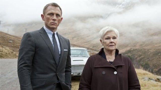 Daniel Craig and Dame Judi Dench in Skyfall