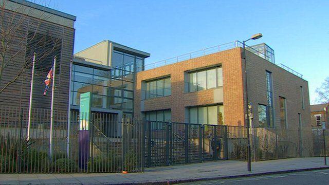 An academy in London