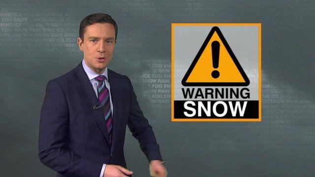 BBC weather forecaster Alex Deakin