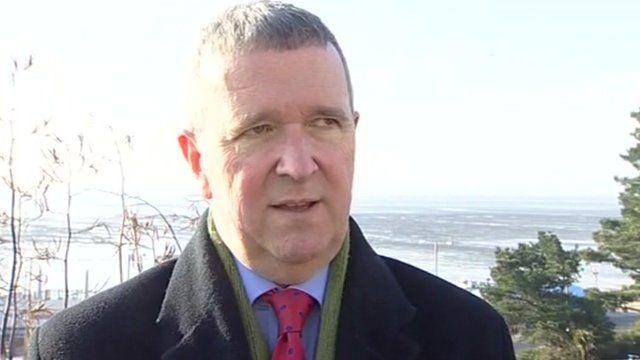 Southend Council Leader Nigel Holdcroft