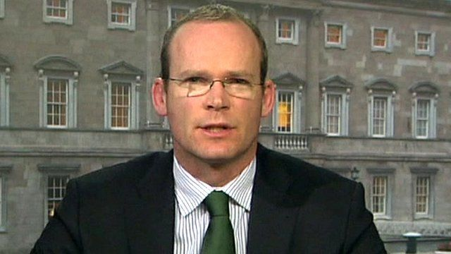 Ireland's Minister for Agriculture Simon Coveney
