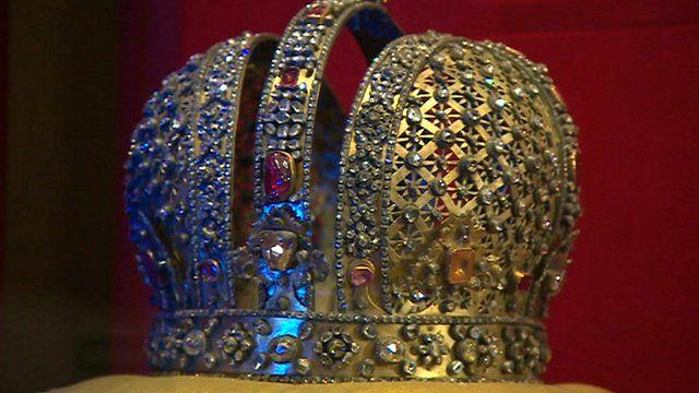 Crown from Kremlin museum