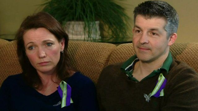 Ian and Nicole Hockley, their 6 year-old son was killed in the shooting