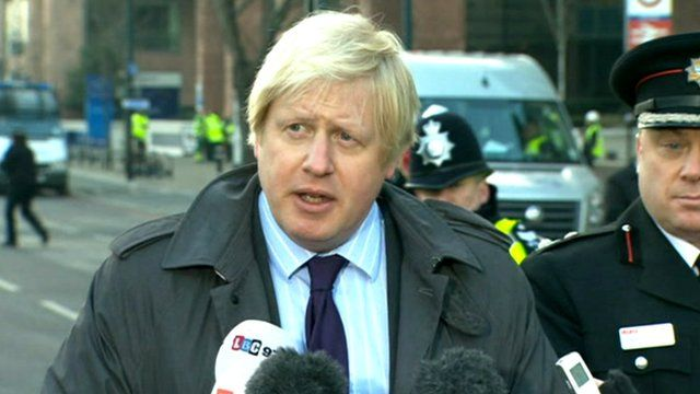 Mayor of London, Boris Johnson