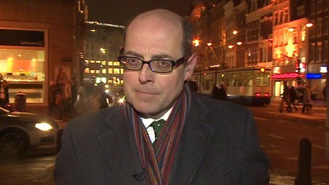 The BBC's Nick Robinson in Amsterdam