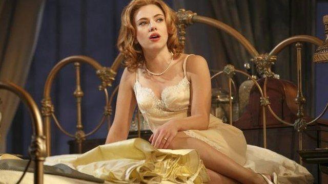 Scarlett Johansson in Cat on a Hot Tin Roof
