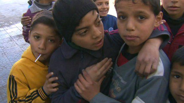 Children in Homs
