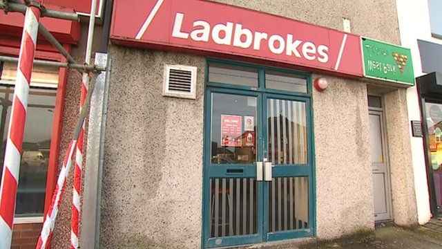Ladbrokes in Crownhill Road, Plymouth