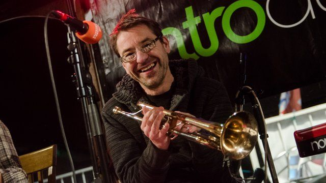 Mumbo Jumbo's BBC Introducing session in Upton-upon-Severn