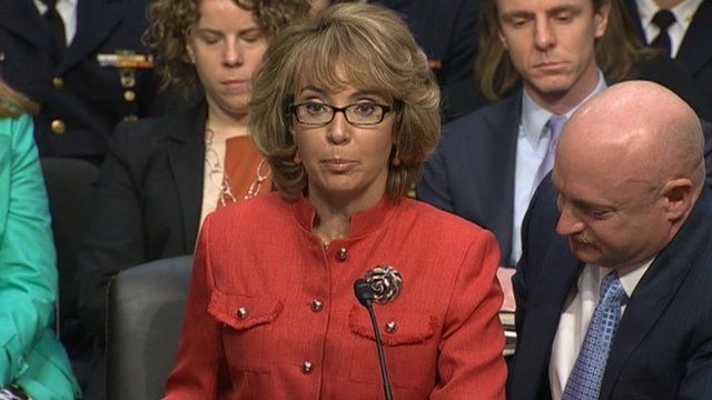 Gabrielle Giffords 30 January 2013
