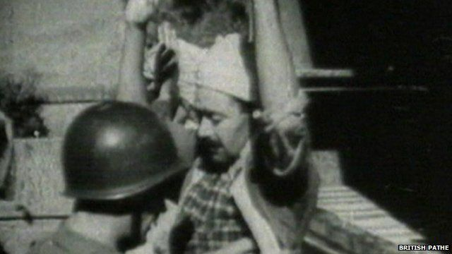 Pathe images from war in Algeria