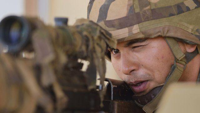 French sniper
