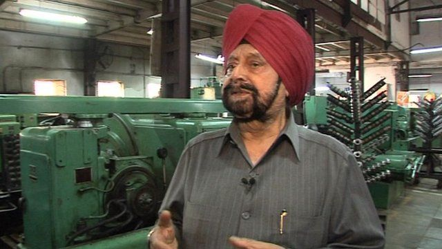 Indian factory owner