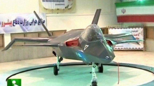 Qaher F313 plane