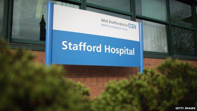 (File photo 2010) Stafford Hospital