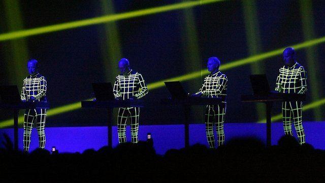 The German band Kraftwerk