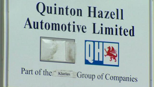 Quinton Hazell sign