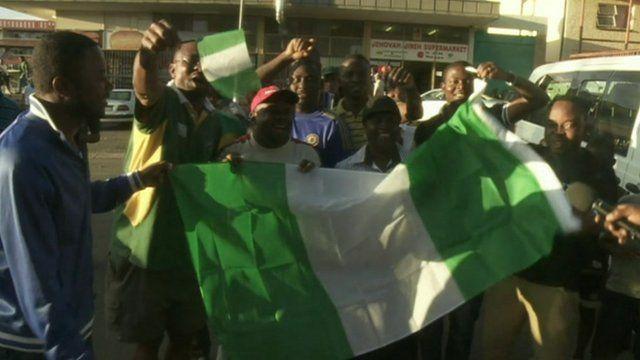 Nigeria fans in Windsor East