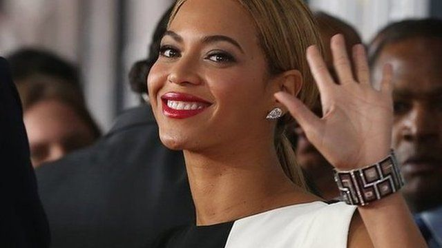 Beyonce at the Grammy Awards