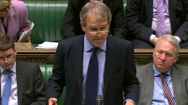 Owen Paterson in House of Commons