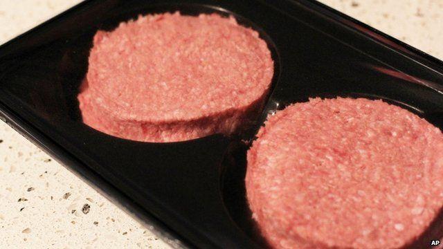 Burgers containing horsemeat