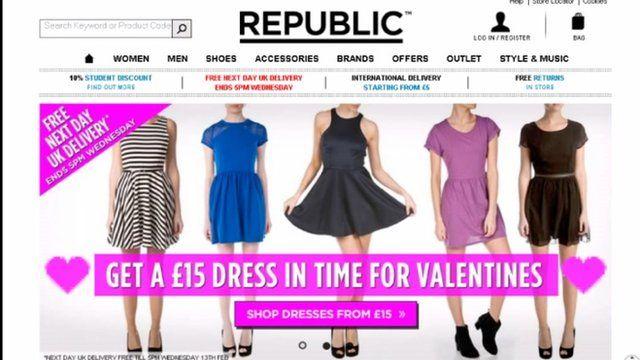 Republic website