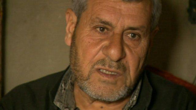 Atif Idriss, Syrian refugee living in Lebanon
