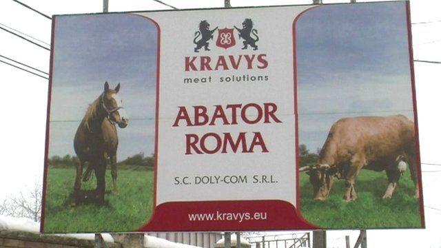 Kravys abattoir, Botosani, Romania