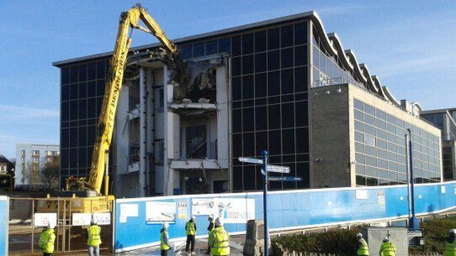 Imax being demolished