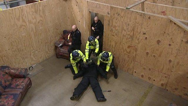 Police Taser training