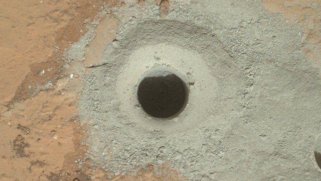 Drill hole