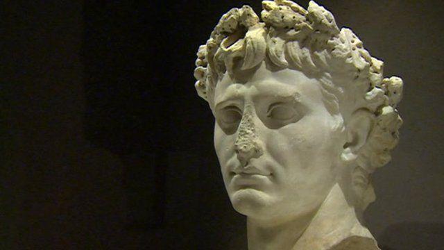 Sculpture of King Herod's head