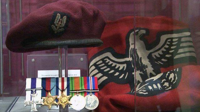 Souvenirs of Captain Cecil Riding's time as an SAS soldier