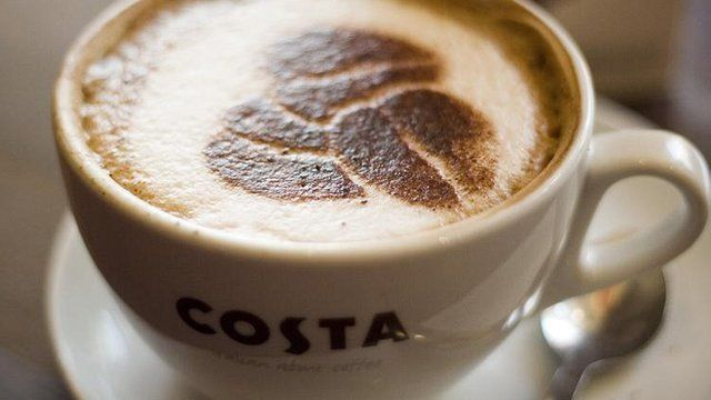 Costa coffee cup