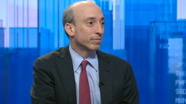 Chairman of the US Commodity Futures Trading Commission Gary Gensler
