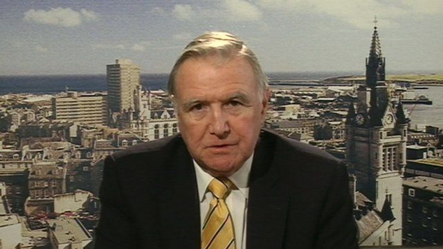 Liberal Democrat MP, Sir Malcolm Bruce