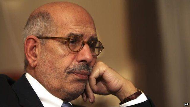 Mohamed ElBaradei, Nov 2012
