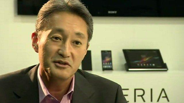 Kazuo Hirai, CEO Sony