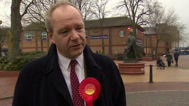 Eastleigh Labour candidate John O'Farrell