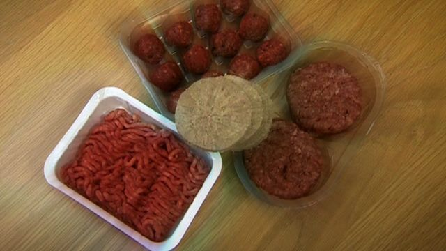 Mince beef products